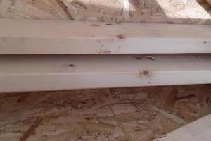 Livraison et pose mur ossature bois dans le calvados prés du Molay-Littry.